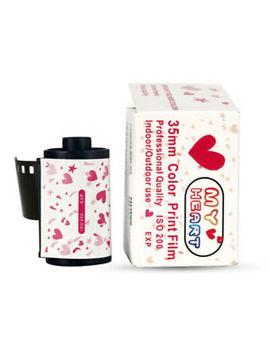 35mm Color Print Film 135 Format Camera Lomo Holga Dedicated Iso 200 Yj by Unbranded