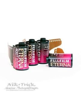 Fuji Eterna 400 T Motion Picture Film ~ 35mm 30exp Colour Negative Film by Fuji