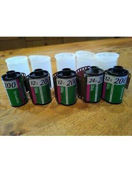 5 X 35mm Fujifilm Colour Films Iso 400 by Fujifilm