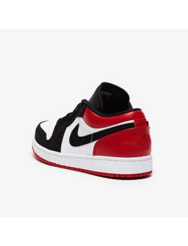 Air Jordan 1 Low   White/Black/Gym Red by Pro Direct Select
