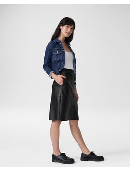 Taylor Vegan Leather Skirt by Universal Standard