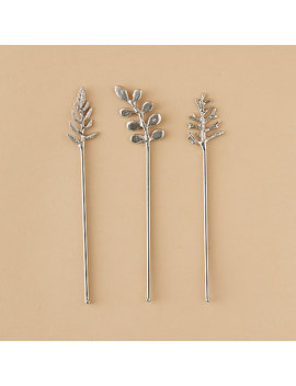 Leaf Cocktail Stirrers by Terrain
