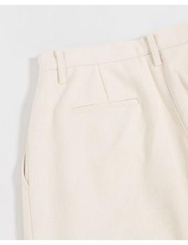Ecru Garçonne Pants by Amomento