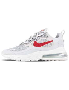 Nike Air Max 270 React Neutral Grey / University Red / Light Graphite by 5 Pointz