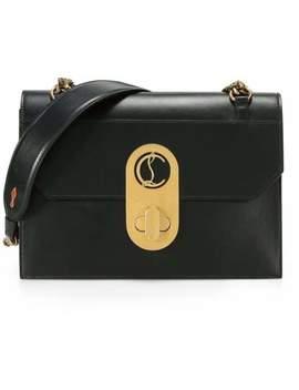 Large Elisa Leather Shoulder Bag by Christian Louboutin