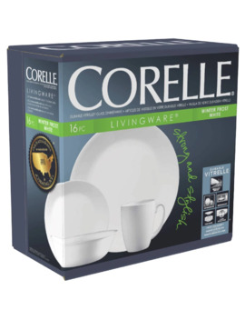 Corelle Winter Frost White 16pc Set 1 Each by Corelle