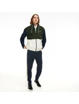Men's Water Resistant Full Zip Jacket by Lacoste