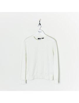 Fila Lightweight Sweatshirt White Small by Fila