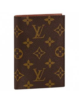 Passport Cover Leather Purse by Louis Vuitton