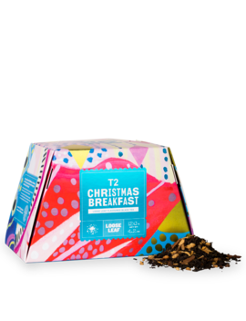 Christmas Breakfast 120g Loose Leaf Feature Cube by T2 Tea