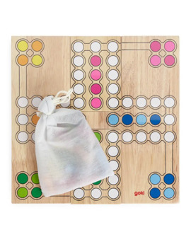 Goki Ludo Board Game by Arket