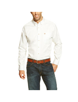 Solid Twill Classic Fit Shirt by Ariat