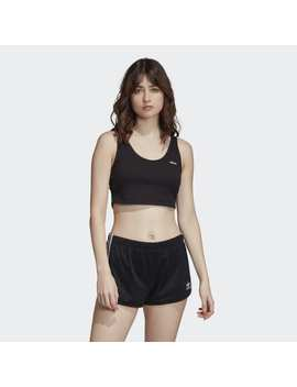 Adilette Cropped Tank Top by Adidas