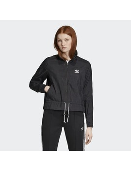 Ruffle Track Jacket by Adidas
