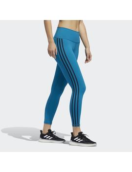 Believe This 3 Stripes 7/8 Tights by Adidas