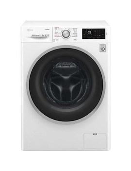Lg Fwj685 Ws 8kg Wash 5kg 1400rpm Dry 6 Motion Direct Drive Freestanding Washing Machine With Steam   White by Lg