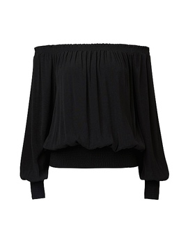 Shirred Blouse by Witchery