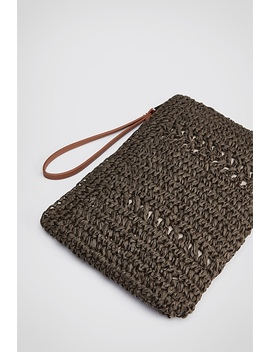Rae Crochet Pouch by Witchery