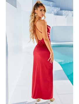Jessica Maxi Dress   Wine by Babyboo Fashion