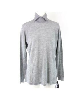 Lana D Oro Cashmere Damen Pullover Lassi Co Gr 44 Grau Kaschmir Seide Np 449 Neu by Ebay Seller