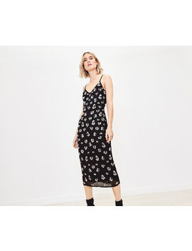 Sequin Leopard Cami Dress by Oasis