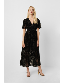 Hanna Velvet Maxi Dress by French Connection