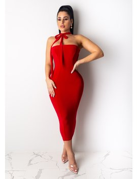 Give Me A Reason Midi Dress by Diva Boutique