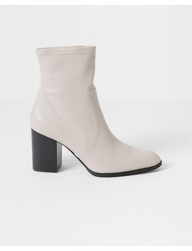 Bone Janet Stretch Boots by Intentionally Blank