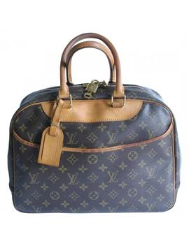 Deauville Cloth Handbag by Louis Vuitton