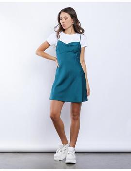 Grace Polka Dot Slip Dress by 2020 Ave