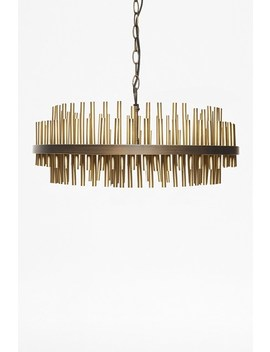Gold Pipe Ceiling Light by French Connection