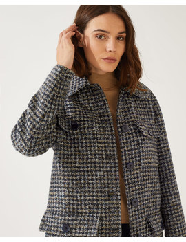 Utility Check Coat by Jigsaw
