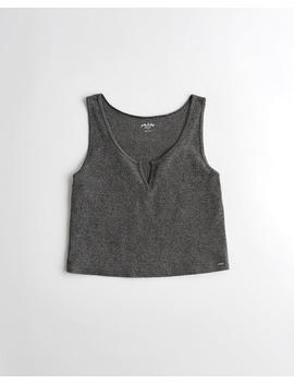 Dreamworthy Ribbed Tank by Hollister