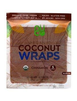 Nuco, Organic Coconut Wraps, Cinnamon, 5 Wraps (14 G) Each by Nuco