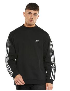 Adidas Originals Mens Lock Up Crew Sweatshirt by Adidas Originals