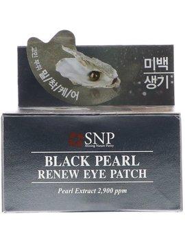 Snp, Black Pearl, Renew Eye Patch, 60 Patches by Snp