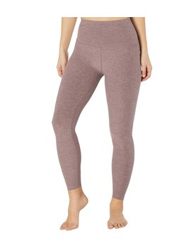 Spacedye High Waisted Caught In The Midi 7/8 Yoga Leggings by Yoga Outlet
