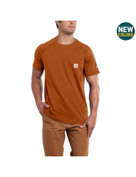 Carhartt Force® Cotton Delmont Short Sleeve T Shirt by Carhartt