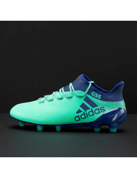 Adidas X 17.1 Fg   Aero Green/Unity Ink/Hi Res Green by Pro Direct Soccer