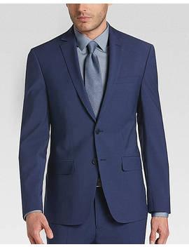 Calvin Klein X Fit Infinite Stretch Blue Extreme Slim Fit Suit by Calvin Klein
