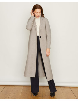 Double Face Check Column Coat by Jigsaw