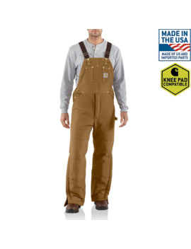 Duck Bib Overall / Arctic Quilt Lined by Carhartt
