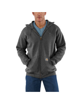 Midweight Hooded Zip Front Sweatshirt by Carhartt