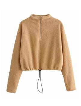 'sienna' Cinched Waist Fleece Pullover (2 Colors) by Goodnight Macaroon
