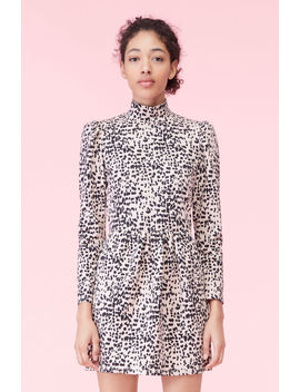 La Vie Dot Print Jersey Dress by Rebecca Taylor