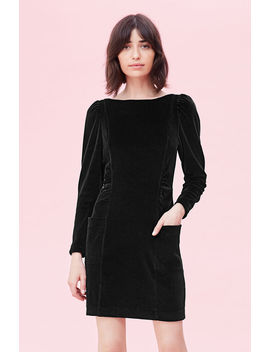 La Vie Velour Dress by Rebecca Taylor