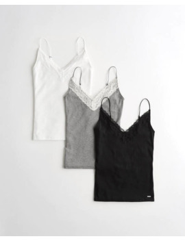 Must Have Layering Cami 3 Pack by Hollister