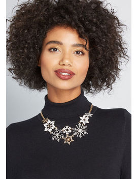 Flurry Much So Statement Necklace by Modcloth