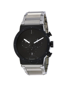 Synergy Chronograph Black Dial Men's Watch by Movado