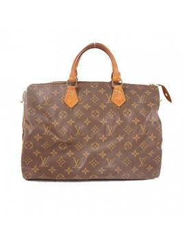 Speedy Cloth Bowling Bag by Louis Vuitton